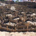 Construcción las villas de Abama