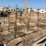 Proyecto Syconca Construccion de los cimientos de las villas de abama
