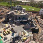 Segunda etapa Proyecto Syconca Construccion de los cimientos de las villas de abama