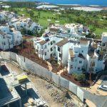 Trabajo Syconca Construccion de los cimientos de las villas de abama