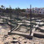 Villas de abama cimientos Syconca Proyecto de Construccion bungalow