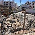 Villas de abama Primera etapa construccion Cimientos Syconca Proyecto