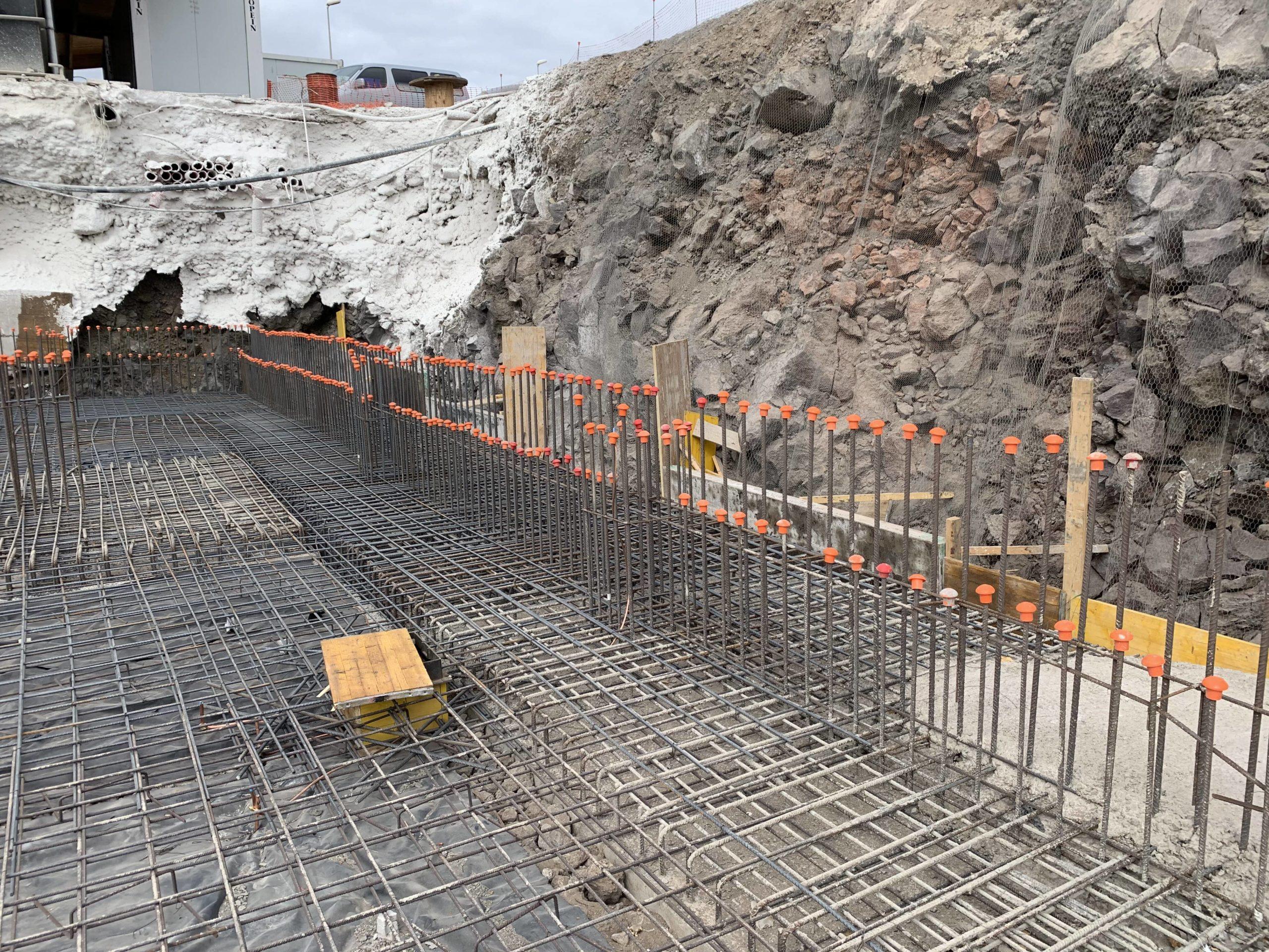 Construcción terminal aeropuerto tenerife sur